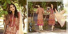 Indian Designer Pakistani Embroidered Printed  dress material,Salwar suit-6354
