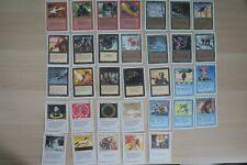33 Cartes Magic MTG - 3ème EditionRevised 1994 en Anglais EN FBB