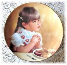Donald Zolan Plate I AM THANKFUL TOO 1st Thanksgiving Day Prayer Collectors MInt