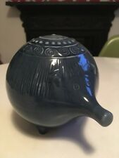 Upsala Ekeby Design Pig Money Box - Made In England ! No Stopper Mid Century