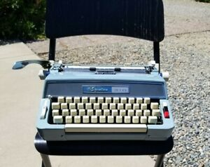 Restored 1966 Wards Signature 510 Brother JP-3 Manual Typewriter With Case