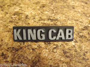 Rare 80-86 Nissan Datsun 720 king cab p/up truck pilar trim moulding screw cover
