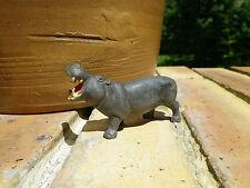 CLAIRET FRANCE: ANIMAUX DU ZOO HIPPOPOTAME gris en très bon état.