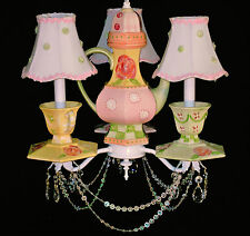 Teapot and Teacups Children's Chandelier