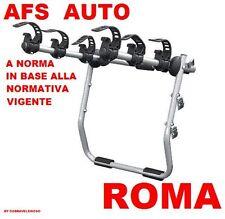 PORTABICI POSTERIORE 3 BICI X ALFA ROMEO 159 STATION WAGON 2006 BICI UOMO DONNA