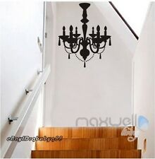 Black Chandelier Wall Decals Vinyl Art Home Stickers Room Decor