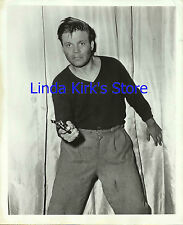 """Neville Brand Promo Photograph """"The Man Who Had Nothing To Lose"""" ABC-TV 1950s"""