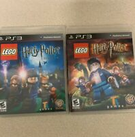 Lego Harry Potter Years 1-4+ Years 5-7 Sony Playstation 3 Video Game Lot 2 Games
