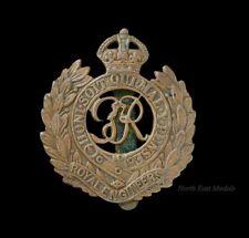 WW2 Royal Engineers Cap Badge GVIR