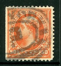 USA 1894 Jefferson 50¢ Orange Scott # 260 VFU I767 ⭐⭐⭐⭐⭐⭐