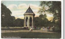London; The Fountain, Victoria Park PPC Commercial Series Unposted, c 1905- 1910
