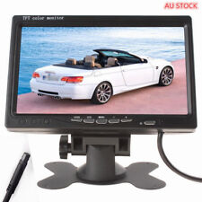 7 inch 2 Video Input TFT Color LCD Car Monitor Car Rear View Camera Headrest DVD
