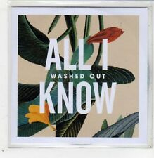 (GB500) Washed Out, All I Know - 2013 DJ CD