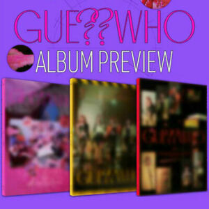 ITZY [GUESS WHO] Album 3 Ver SET 3CD+1 POSTER+3 Photo Book+6 Card+3 Pre-Order