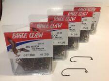 500 EAGLE CLAW JIG HOOKS  #630 1/0