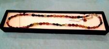 Collar de joyería con gemas naturales de turmalina