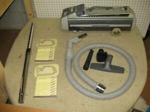 Electrolux 1505 Silverado Canister Vacuum Cleaner Wand Head Hose Nozzle Bag MORE