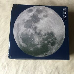 Four Point PLANET EARTH Round Jigsaw Puzzle 1000 Piece Circle SPACE Astrology