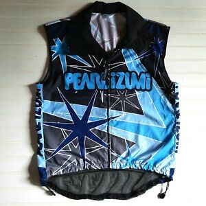 Pearl Izumi Cycling Vest Adult Size M Mesh Back Windbreaker Spell Out Logo