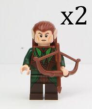 LEGO 79012 Mirkwood Elf Army Mirkwood Elf Lot of 2 Minifigures w/ Bows