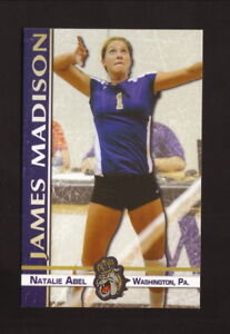 James Madison Dukes--2011 Volleyball Pocket Schedule