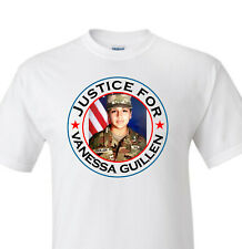 Justice for Vanessa Guillen White T-shirt
