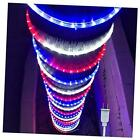 100ft/30m Led Rope Lights Lamps Kit Indoor Outdoor 100 Feet Red White Blue