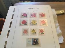 East Germany Used Stamps Sets Circ 1972
