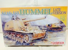 DRAGON ARMOR PRO 1/72 SCALE Sd.Kfz.165 HUMMEL - #7301 - CONTENTS FACTORY SEALED