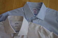 Lot of 2  NWOT Brooks Brothers Non Iron Spread Collar 15-34 Regular Fit MSRP $92