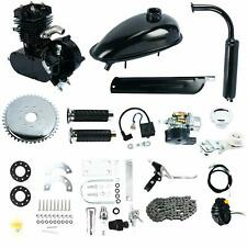 50cc 2 Stroke Cycle Motor Kit Black Motorized Bike Petrol Gas Bicycle Engine US