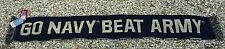 Go Navy Beat Army Scarf - Navy Scarf