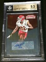 BGS 9.5/10 MARCUS PETERS RC AUTO /25 *SSP ROOKIE INK GOLD 2015 Panini Contenders
