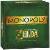 Monopoly Zelda Brettspiel Gesellschattspiel Spiel englisch NEU