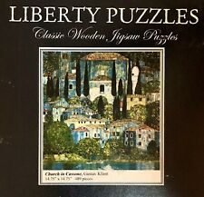 "Liberty Classic Wooden Jigsaw Puzzle ""Church in Cassone"", 502 Pieces, Mint"