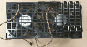 Dell CP232 HW856 Precision T3500 | T5500 WorkStation Front Dual Fan Assembly