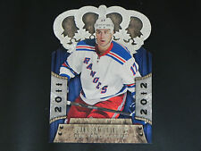 2011-12 Crown Royale #61 Brandon Dubinsky New York Rangers