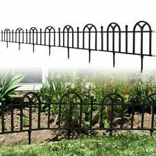 Victorian Garden Border Fencing Set 8 Feet long x 10 inches high