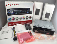Mint New in Box Pioneer Deh-X6500Bt Cd Rds Automobile In-Dash Radio & Cd Player