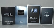Men`s Cologne Samples Lot Bleu De Chanel Amen Dior Homme  Armani Code