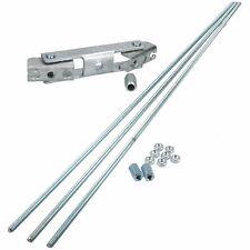 Trailer Brake Rod Linkage 3m M10 & Twin Axle Compensator Mushroom Cables
