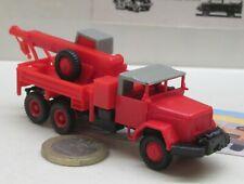 Roco miniatur  modell 4009:  Magirus Deutz Jupiter   Kran.  Feuerwehr (5835)