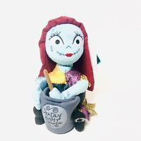 "Nightmare Before Christmas Animated 11"" Sally Plush Figure Halloween NWT"