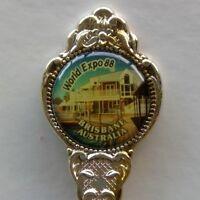 World Expo 88 Brisbane Australia Souvenir Spoon Teaspoon (T168)