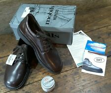 MEPHISTO MENS WALKING SHOES SIZE EU 8 LEATHER BROWN