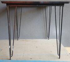 Mid Century 1950's Hairpin Leg Table Frame KR Devling Restoration