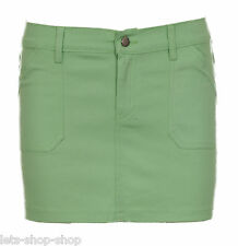 Womens Skirt Ladies Bodycon Stretch Short Cotton Mini Office Pencil 8 10 12 14 Green L (uk Size 14)