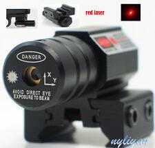 Mini Red Dot Laser Sight Picatinny 11/20mm Mount for Rifle Gun Pistol Hunting