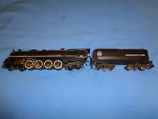 American Flyer #332 DC Northern Union Pacific Loco & Tender. Runs/Smokes Well