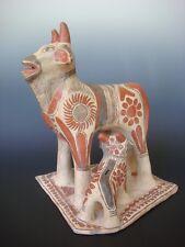 "XL old vintage Mexican pottery Guerrero Ameyaltepec sculpture  12"" x 13 3/4"""